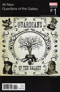 Cover Thumbnail for All-New Guardians of the Galaxy (Marvel, 2017 series) #1 [Incentive Jeffrey Veregge Hip Hop Variant]