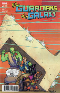 Cover Thumbnail for All-New Guardians of the Galaxy (Marvel, 2017 series) #1 [Incentive Aaron Kuder Variant]