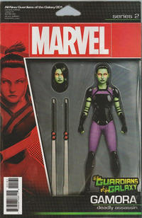 Cover Thumbnail for All-New Guardians of the Galaxy (Marvel, 2017 series) #1 [John Tyler Christopher Action Figure (Gamora)]