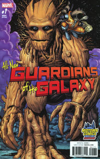 Cover for All-New Guardians of the Galaxy (Marvel, 2017 series) #1 [KRS Comics Exclusive Natali Sanders Virgin Art]