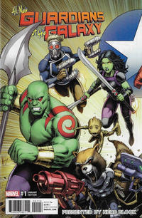 Cover Thumbnail for All-New Guardians of the Galaxy (Marvel, 2017 series) #1 [Dale Keown Nerd Block Exclusive Connecting Cover A]