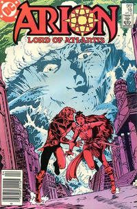 Cover Thumbnail for Arion, Lord of Atlantis (DC, 1982 series) #18 [Canadian]