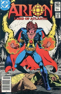 Cover Thumbnail for Arion, Lord of Atlantis (DC, 1982 series) #1 [Canadian]