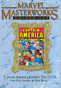 Cover Thumbnail for Marvel Masterworks: Golden Age Captain America (Marvel, 2005 series) #6 (189) [Limited Variant Edition]
