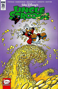 Cover Thumbnail for Uncle Scrooge (IDW, 2015 series) #35 [Retailer Incentive Cover - Michele Mazzon Variant Art]