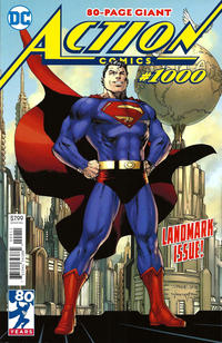 Cover Thumbnail for Action Comics (DC, 2011 series) #1000 [Jim Lee and Scott Williams Cover]