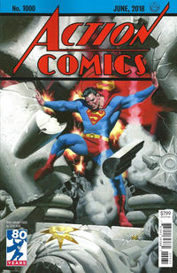 Cover Thumbnail for Action Comics (DC, 2011 series) #1000 [1930s Variant Cover by Steve Rude]