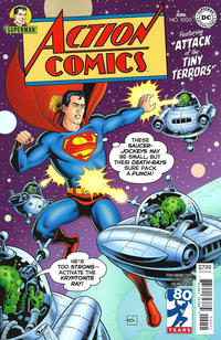 Cover Thumbnail for Action Comics (DC, 2011 series) #1000 [1950s Variant Cover by Dave Gibbons]