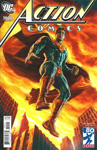 Cover Thumbnail for Action Comics (DC, 2011 series) #1000 [2000s Variant Cover by Lee Bermejo]