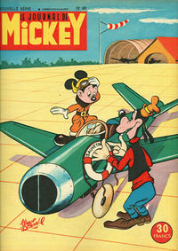 Cover Thumbnail for Le Journal de Mickey (Disney Hachette Presse, 1952 series) #80