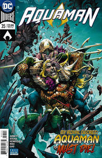 Cover Thumbnail for Aquaman (DC, 2016 series) #35 [Howard Porter Cover]