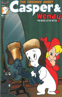 Cover Thumbnail for Casper & Wendy (American Mythology Productions, 2018 series) #1 [Cover A Jenni Gregory]
