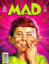 Cover Thumbnail for Mad (EC, 2018 series) #1