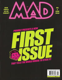 Cover Thumbnail for Mad (EC, 2018 series) #1 [Newsstand Edition]