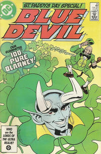 Cover Thumbnail for Blue Devil (DC, 1984 series) #25 [Direct]
