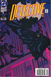 Cover Thumbnail for Detective Comics (DC, 1937 series) #633 [Newsstand]