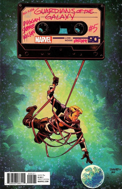 Cover for All-New Guardians of the Galaxy (Marvel, 2017 series) #5