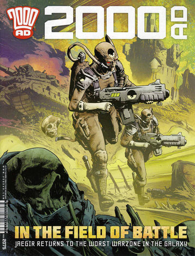 Cover for 2000 AD (Rebellion, 2001 series) #2075