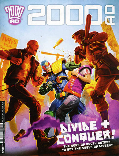 Cover for 2000 AD (Rebellion, 2001 series) #2076
