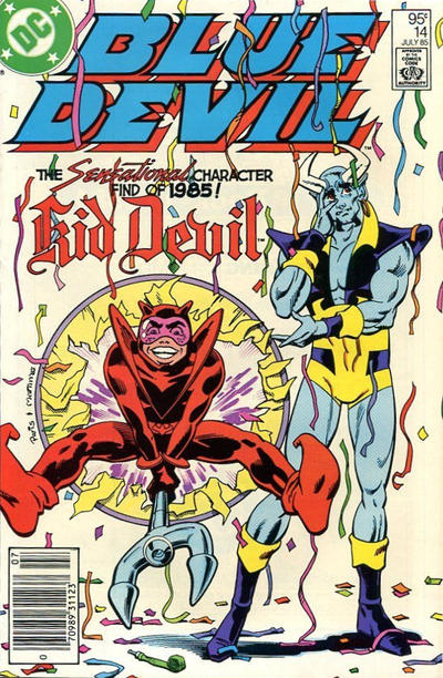 Cover for Blue Devil (DC, 1984 series) #14 [Direct]