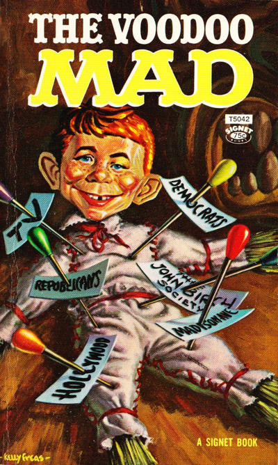 Cover for The Voodoo Mad (New American Library, 1963 series) #T5042