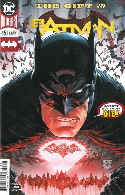 Cover for Batman (DC, 2016 series) #45 [Second Printing - Tony S. Daniel Cover]