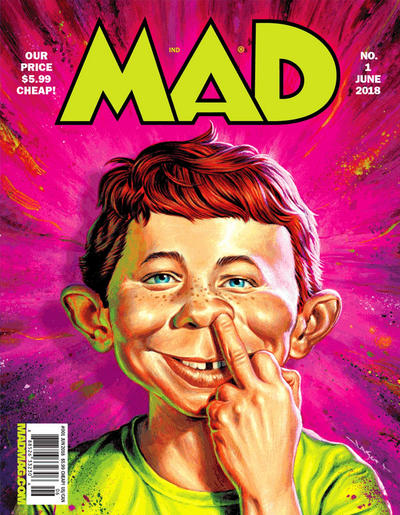 Cover for Mad (EC, 2018 series) #1