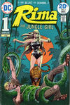 Cover for Rima, the Jungle Girl (DC, 1974 series) #1