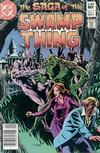 Cover Thumbnail for The Saga of Swamp Thing (1982 series) #5 [Newsstand]