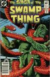 Cover for The Saga of Swamp Thing (DC, 1982 series) #6 [Newsstand]