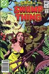 Cover Thumbnail for The Saga of Swamp Thing (1982 series) #8 [Newsstand]