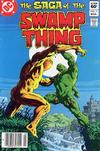 Cover Thumbnail for The Saga of Swamp Thing (1982 series) #11 [Newsstand]