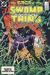 Cover for The Saga of Swamp Thing (DC, 1982 series) #23 [Direct]