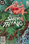 Cover for The Saga of Swamp Thing (DC, 1982 series) #25 [Newsstand]