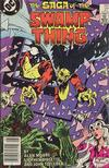 Cover Thumbnail for The Saga of Swamp Thing (1982 series) #27 [Newsstand]