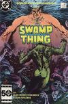 Cover for The Saga of Swamp Thing (DC, 1982 series) #38 [Direct]