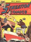 Cover for Sensation Comics (DC, 1942 series) #3