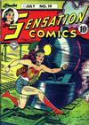 Cover for Sensation Comics (DC, 1942 series) #19
