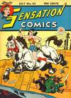Cover for Sensation Comics (DC, 1942 series) #43