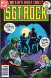 Cover for Sgt. Rock (DC, 1977 series) #310