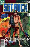 Cover for Sgt. Rock (DC, 1977 series) #318