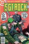 Cover for Sgt. Rock (DC, 1977 series) #320