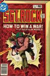 Cover for Sgt. Rock (DC, 1977 series) #340