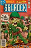 Cover for Sgt. Rock (DC, 1977 series) #349 [Newsstand]