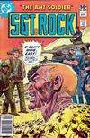 Cover for Sgt. Rock (DC, 1977 series) #351 [Newsstand]