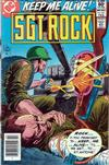 Cover for Sgt. Rock (DC, 1977 series) #361 [Newsstand]