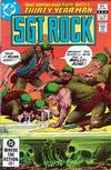 Cover for Sgt. Rock (DC, 1977 series) #366 [Direct]