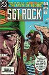 Cover for Sgt. Rock (DC, 1977 series) #379 [Direct-Sales]