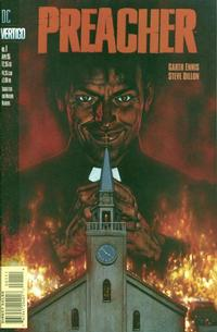 Cover for Preacher (DC, 1995 series) #1