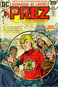 Cover Thumbnail for Prez (DC, 1973 series) #3